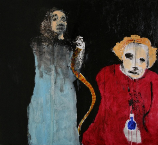 painting of faith healers