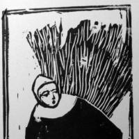 Salem witch print by Laurel Hausler